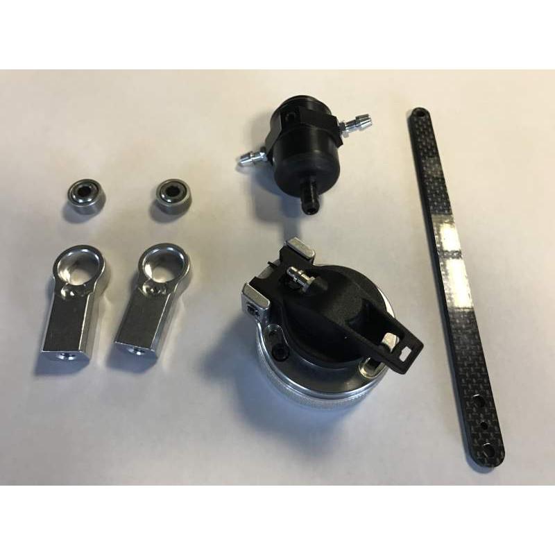 ALU WHEEL AXLE +2mm - HARD COATED (2) - 355252