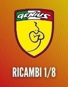 Ricambi Genius per automodelli GTC 1/8 - Genius Racing
